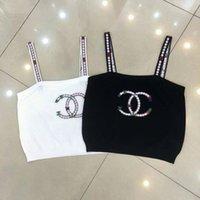 sipariş tankı üstleri toptan satış-Seksi Mesh tank Tops Kadınlar Kız Yaz Serin Kaşkorse oymak Tops Beyaz ve siyah t-shirt