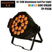 Wholesale par lights for sale - Gigertop LED Par x15w RGBWA With DMX512 for club Sound Activated Disco Stage Light