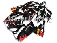 aprilia rs 125 abs carenado al por mayor-Nuevo cuerpo para Aprilia RS4 RSV125 RS125 06-11 RS125R RS-125 RSV 125 RS 125 2006 2007 2008 2010 2010 2011 ABS Carenado conjunto rojo negro