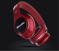auricular bluetooth de gama alta al por mayor-Bluedio U (UFO) Auriculares bluetooth inalámbricos / alámbricos Orejeras auriculares con micrófono High-End Sonido 3D Patentado 8 Conductores auriculares para auto