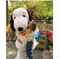 trajes do epe venda por atacado-Melhor transporte new EPE Adulto Tamanho Snoopy Dog Mascot Costume Halloween Chirastmas Partido Fancy Dress Frete Grátis
