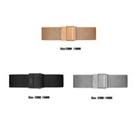 daniel wellington correas al por mayor-2019 Diseñador de Lujo de Calidad Superior Daniel Wellington Relojes Correa de Metal de Acero Inoxidable de 12mm 14mm para DW Relojes de Pulsera Clásicos