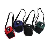 moda cintura sacos mulheres venda por atacado-Atacado Moda PU sacos de ombro de couro 18SS bolsa de Ombro homens Mulheres Sacos de Designer de Saco de Cintura Fanny Packs Cinto Sacos de peito marca saco