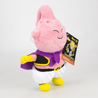 bola de dragão z majin buu venda por atacado-Majin Buu bichos de pelúcia grande vilão Majin Buu Dragon Ball Z Buu Plush Toys criativa dos desenhos animados Toy Plush presente