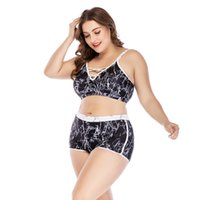 bikini ücretsiz nakliye seti toptan satış-Ücretsiz Kargo Büyük Boy Mayo Bikini Set Katı Mayo Gecelikler Beachwear Maillot De Bain Femme Şınav
