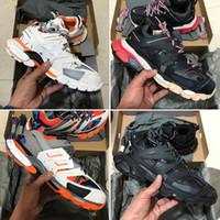 kutu takibi toptan satış-Kutu ile 2019 Yeni 3 M Üçlü S Parça 3.0 Koşu Ayakkabıları Yayın 3 Tess Gomma Maille Koşu Tasarımcı Ayakkabı Spor Sneaker 35-45
