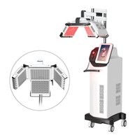 Wholesale laser hair regrowth machines for sale - Group buy New Version laser hair regrowth machine anti loss treatment nm diode laser hair growth equipment for hair regrowth DHL
