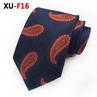 gemusterte paisley-blumenbindung groihandel-2019 Mens Floral Krawatten New Man Fashion Paisley Krawatten Klassische Blumenmuster Gravata Jacquard Krawatte Business Krawatte für Männer