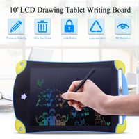 Wholesale tablet toys resale online - 8 inch Colorful LCD Design Handwriting Pad Mini Writing Tablet Electronics Graphic Drawing Board Children Writing Toys