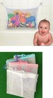 hots bag net toptan satış-Sıcak Temizlik Organizasyon Bebek Oyuncak Örgü Saklama Çantası Banyo Küvet Bebek Organizatör Emme Banyo Sayfalar Net