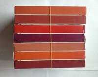 maquillage kosmetik großhandel-2 In 1 Make-up Set Samtmatt Flüssiger Lippenstift Und Bunter Lip Liner Kit Langlebig Wasserdicht Kosmetische Sammlung Maquillage