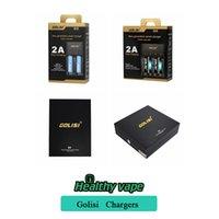 оригинальное зарядное устройство s4 оптовых-100% оригинал GOLISI O2 O4 S2 S4 Зарядное устройство Digicharger O4 Зарядное устройство для интеллектуальных аккумуляторов Ni-MH / Ni-Cd // 18650/26650 2A Быстрая зарядка VS Nitecore