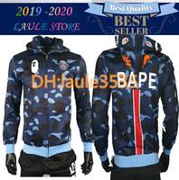 Wholesale men best designer shirts for sale - Group buy 2019 Newest Best Sellers Summer men APE jacket camouflage print T shirt men and women fashion Top Designer Alphabet Embroidery tshirt
