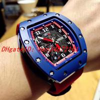 relojes de pulsera usados al por mayor-Reloj de pulsera para hombre de la edición estadounidense de edición especial de edición limitada, con movimiento mecánico automático importado, diámetro 43 mm, cristal de zafiro