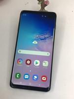 quad core phone venda por atacado-Goophone S10 + S10Plus Desbloqueado 1G Ram 4G Rom / 8G Rom / 16G Rom 6.5 Polegada Tela Smartphone pode ser mostrado 4G real 3G Telefone Móvel
