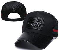 ingrosso cappello di raffreddamento nero-Berretto da baseball Moda Uomo Donna Outdoor Designer Sport lusso Mesh Caps Hip Hop regolabile Snapback Cool Pattern Nuovo Truck Hat nero bianco