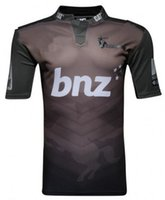 ingrosso t-shirt da rugby-2018 CRUSADERS Super Rugby Away Jersey 2017 New Zealand Crusaders Rugby maglie Crusaders rugby Maglie T-shirt taglia S-3XL (può stampare)