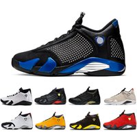 Wholesale size 14 shoes resale online - Classical XIV Basketball Shoes Men Varsity Royal Red last shot Black Fusion Varsity Red s XIV Playoffs Sneakers Eur Size