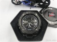 steampunk saatleri toptan satış-Erkekler Saatler GST-210 Adam Saat Üst Ordu Askeri Steampunk Spor Erkek Kuvars-İzle Erkekler Hodinky Relojes Hombre