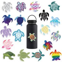 Wholesale low priced laptops resale online - Lowest Price New Arrival Sea Turtle Car Doodle Stickers Suitcase Laptop Guitar Waterproof Stickers A10