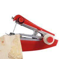 vendas de têxteis venda por atacado-Manual Máquina de costura Mini máquinas de costura portáteis Ferramentas Creative Home Textile Prático Hot Sale Cor Randomized 2 58hc UU