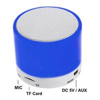 subwoofer para telemóvel venda por atacado-S10 Bluetooth Speaker U Disco TF Cartão MP3 Player DC 5 V Música Do Telefone Móvel Universal Mini Speaker Sem Fio Ao Ar Livre Portátil Subwoofer