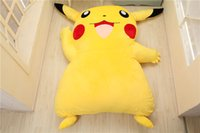 Wholesale pikachu bedding for sale - Group buy Japan Anime Pikachu Stuffed Large Cartoon Japanese Beds Mattress Pad Bedding Set Mat Memory Foam Cushion Summer Tatami PikaQ