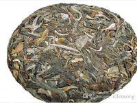 chá verde laranja venda por atacado-Chá chinês puer chá de alta qualidade da China bom para a saúde deixa o chá 100g bolo cru frete grátis