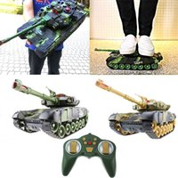 Wholesale launch adapter resale online - Large Remote Control Tank Charging Battle Launching Off road Tracked Remote Control Car Boy Children s Toy Car