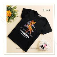 muchachas lindas medio camisetas al por mayor-Niños 2019 Verano de manga corta T camiseta linda Ropa para niños Chicos de algodón puro Coreano Half Girl Chaqueta de tiempo libre