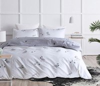 Wholesale zebra queen bedding set for sale - Cute Cartoon Bedding Sets Zebra Christmas Tree Printed Duvet Cover with Pillowcase Queen King Size
