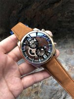 reloj multifunción de negocios al por mayor-reloj de la correa de acero original de múltiples funciones de negocio de cuarzo marca de relojes ocasionales 2019 de los hombres de lujo deportes de la moda de los hombres