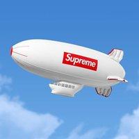 şişme beyaz toptan satış-Klon Beyaz Şişme Blimp PVC 17FW kutusu Su Gönderici Şişme Blimp 17FW hava Fly Gönderici Beyaz