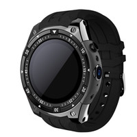 Wholesale answer gear for sale - Group buy Bluetooth SmartWatch X100 Android MTK6580 G WiFi GPS Smart Watch men for Samsung Gear S3 HUAWEI watch KW88 GW11 QW09 GT88
