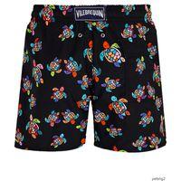 Wholesale european jerseys resale online - mens summer swim short Vilebrequin bermuda beach clothing TURTLES Newest Summer Casual Shorts Men Fashion Style Mens Shorts