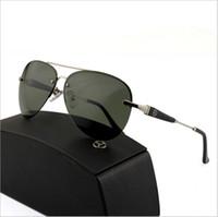 lunettes de soleil polarisées violet achat en gros de-Miroir anti-violet lunettes de soleil polarisées anti-pourpre avec Full Frame Adumbral Goggle Designer verre pour la conduite de marque chaude