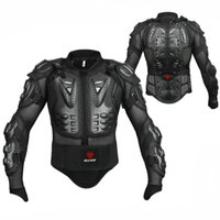Wholesale professional motorcycle jacket resale online - Professional Motorcycle Guards Riding Body Protection Motorcross Racing Full Body Armor Spine Chest Protective Jacket Gear
