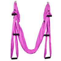 Wholesale inversion swing for sale - Group buy Handles Anti gravity Aerial Yoga Hammock Flying Swing Trapeze Yoga Inversion Exercises Device Home Gym Hanging Belt