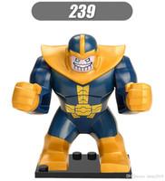 Wholesale avengers dolls set resale online - XH239 Thanos cm High Avengers Dolls Set Models Best Children Gift Baby Toys