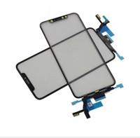 iphone glas reparaturen großhandel-Erneuerungs-Teil-Frontglas WithTouch Digitizer für iPhone XS maximales gebrochenes LCD-Reparatur-Verlegenheit Freies Verschiffen