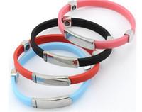 pulsera de salud iónica al por mayor-Envío gratis Nueva moda Pulsera antiestática Negativa Ion Protección Radiológica Salud Terapia magnética Pulsera Mano catenaria