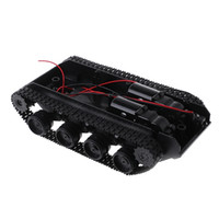 arduino entfernt großhandel-RC Tank Dämpfung Balance Tank Roboter Chassis Plattform Fernbedienung DIY für Arduino