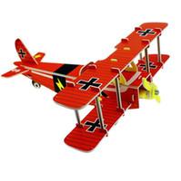 pädagogische papiermodelle großhandel-Klassische Puzzlemodelle 3D Puzzle DIY Ziegel Pädagogisches Spielzeug für Kinder Skala Setzt Papier Freies Verschiffen