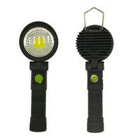 düğme anahtarı düğmesi toptan satış-LED Kamp Işık Lambası USB Kanca Ile Yuvarlak Kare Düğme Anahtarı Fener Şarj Siyah Yürüyüş Parlak Bakım 15 5dgD1
