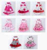 детские шевроны оптовых-INS младенцы цветочные шевроны комплект одежды камуфляж леопарда малыша детские винтажные наряды подтяжки + пачки + повязка на голову костюм 3шт