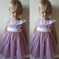 Wholesale toddlers hot pink party dresses for sale - Group buy Summer Children s Dresses Fashion Toddler Baby Girl Birthday Princess Party Formal Dress Tassel Fly Sleeve Dress Hot