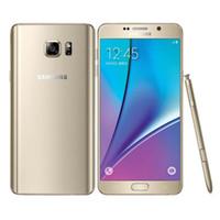 samsung note 4g al por mayor-100% original Samsung Galaxy Note 5 N9200 N920A / T 5.7 pulgadas Octa Core 4GB RAM 32GB ROM 16MP 4G LTE teléfono restaurado DHL