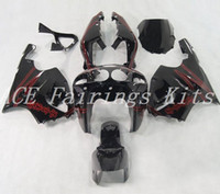 Wholesale black red zx7r fairing resale online - High quality New ABS motorcycle fairings fit for kawasaki Ninja ZX7R ZX7R fairing kits black red
