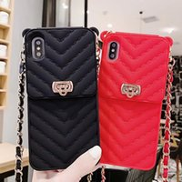 Wholesale cc cases for sale – best Luxury CC wallet card holder case for iphone xs max xr x card slot silicone cases for iphone s plus
