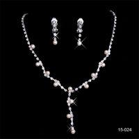 jewels crystal flowers 도매-150-24 뜨거운 판매 거룩한 라인 석 크리스탈 꽃 귀걸이 목걸이 세트 파티 파티 보석 저녁 무도회 저녁 여성을위한